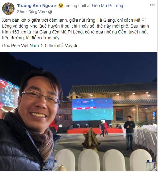 Lạc giọng vì cổ vũ bóng đá ở nơi đặc biệt nhất Việt Nam - Ảnh 1