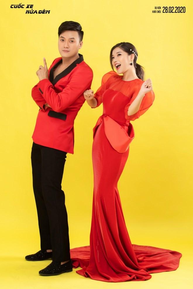 Hoàng Yến Chibi - Quách Ngọc Tuyên diện đồ đôi, trẻ trung đón Valentine - Ảnh 1