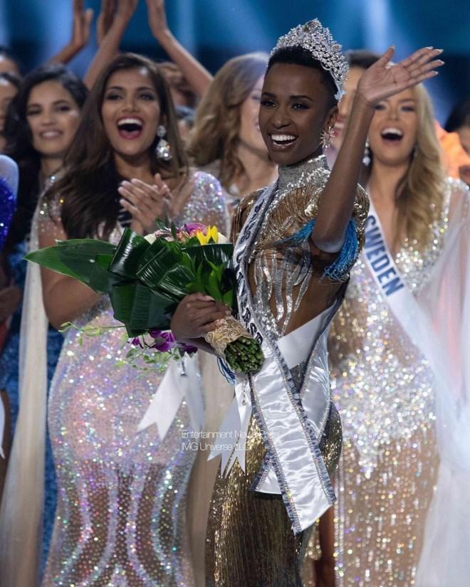 Người đẹp Nam Phi đăng quang Hoa hậu Hoàn vũ Thế giới 2019, Hoàng Thùy tiếc nuối dừng chân ở Top 20 - Ảnh 4