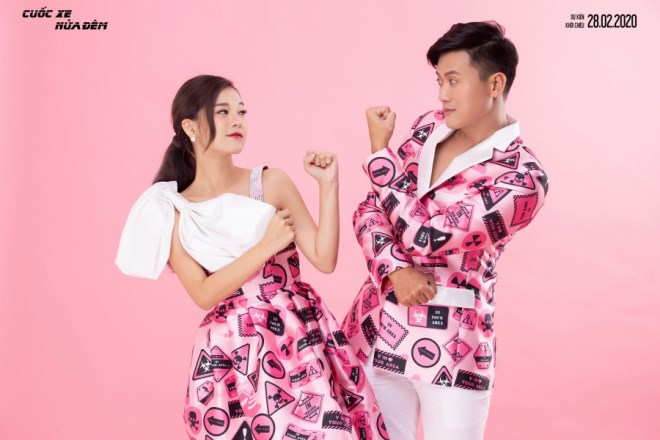 Hoàng Yến Chibi - Quách Ngọc Tuyên diện đồ đôi, trẻ trung đón Valentine - Ảnh 7