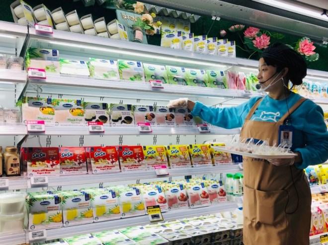 Sữa chua Vinamilk đã chính thức có mặt tại siêu thị thông minh Hema của Alibaba tại Trung Quốc - Ảnh 2