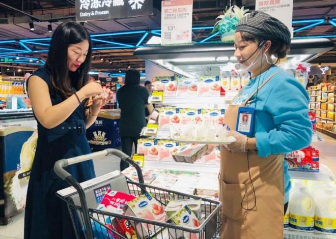 Sữa chua Vinamilk đã chính thức có mặt tại siêu thị thông minh Hema của Alibaba tại Trung Quốc - Ảnh 4