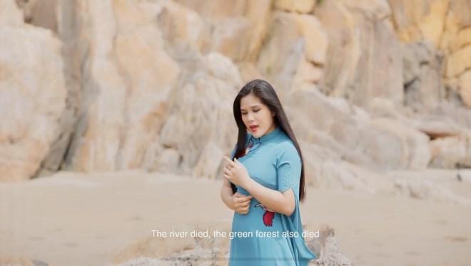 Ca sỹ Sao mai Bùi Thu Huyền sẽ ra mắt MV đặc sắc về vấn đề môi trường - Ảnh 3
