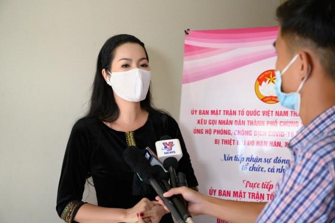 Trịnh Kim Chi và nhiều nghệ sĩ quyên góp chống dịch Covid-19 - Ảnh 1