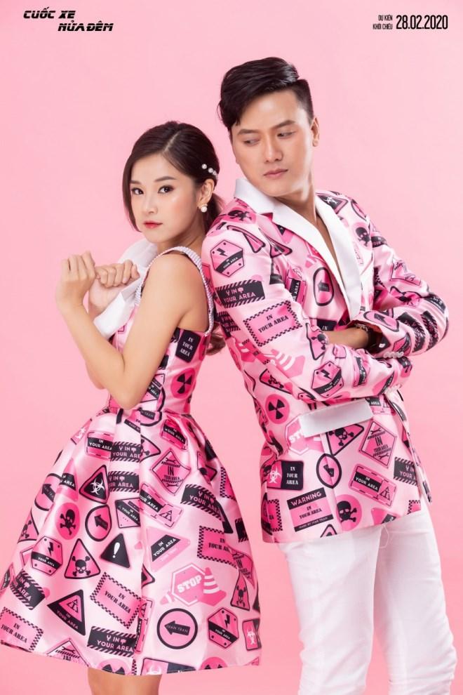 Hoàng Yến Chibi - Quách Ngọc Tuyên diện đồ đôi, trẻ trung đón Valentine - Ảnh 9